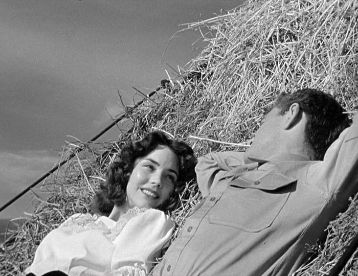 Jennifer Jones, Robert Walker in Since You Went Away