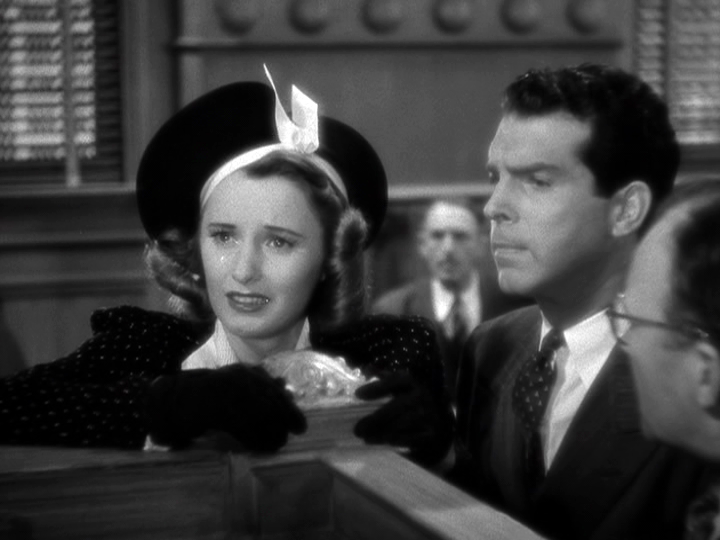 Barbara Stanwyck, Fred MacMurray in Remember the Night