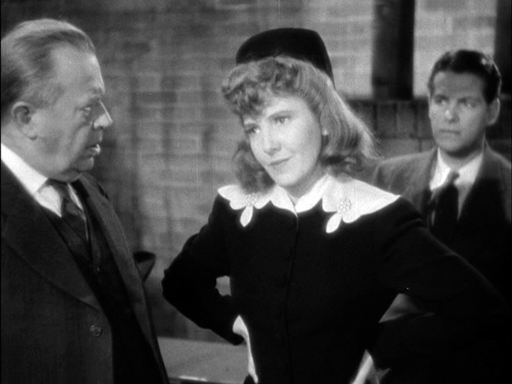 Charles Coburn, Jean Arthur, Robert Cummings in The Devil and Miss Jones
