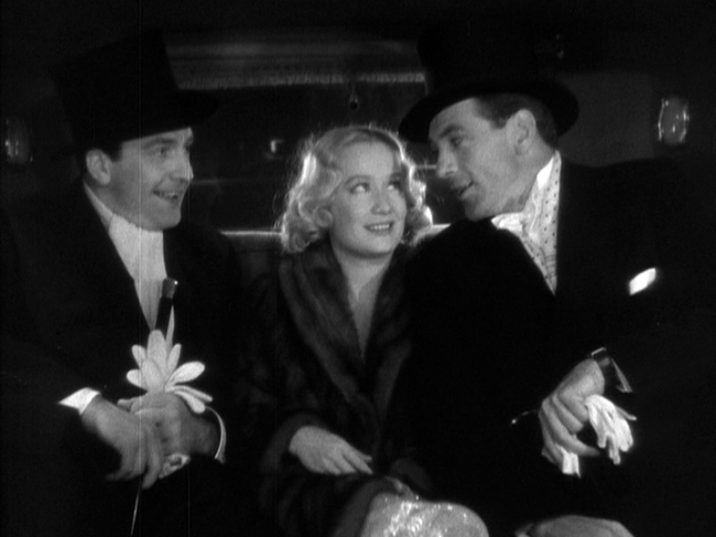 Fredric March, Miriam Hopkins, Gary Cooper in Design for Living