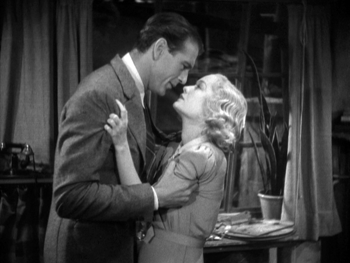 Gary Cooper, Miriam Hopkins in Design for Living
