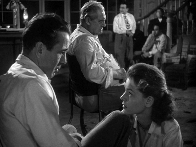 Humphrey Bogart, Lauren Bacall star in Key Largo