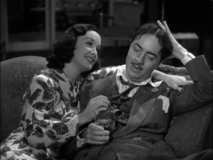 Gail Patrick, William Powell in Love Crazy
