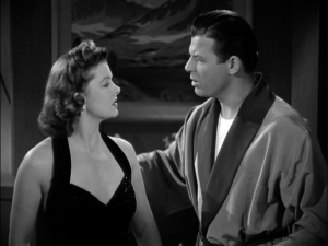 Myrna Loy, Jack Carson in Love Crazy