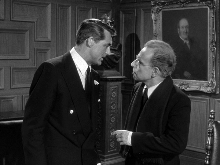 Cary Grant, Hume Cronyn in People Will Talk