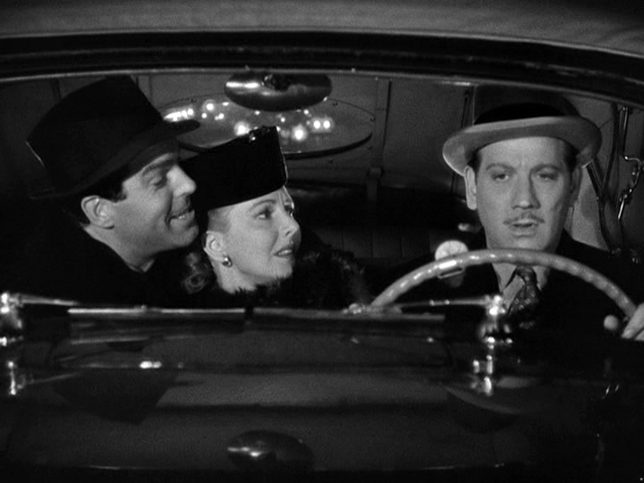 Fred MacMurray, Jean Arthur, Melvyn Douglas in Too Many Husbands