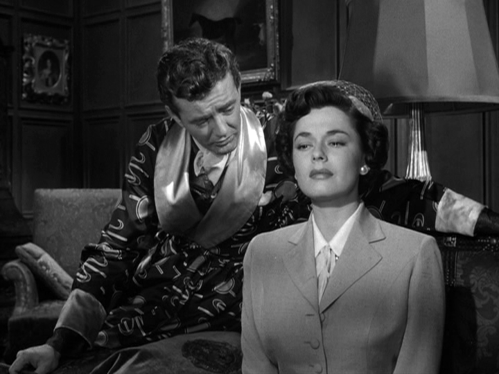 Robert Walker, Ruth Roman in Strangers on a Train