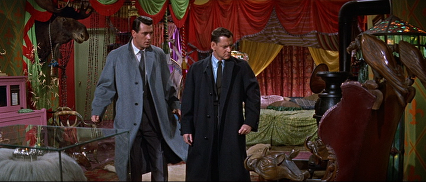 Rock Hudson, Tony Randall in Pillow Talk