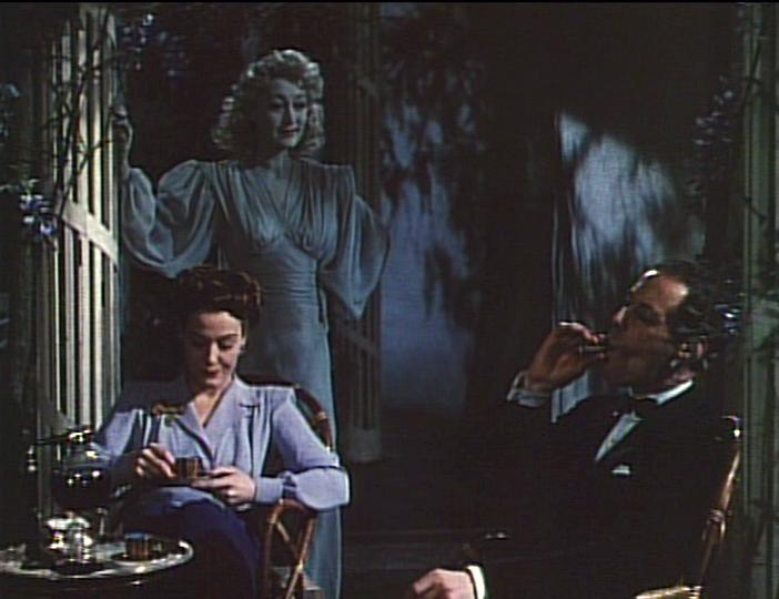 Constance Cummings, Kay Hammond, Rex Harrison in Blithe Spirit