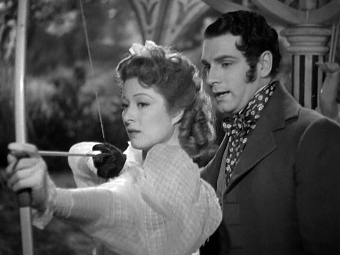 Greer Garson, Laurence OIivier in Pride and Prejudice
