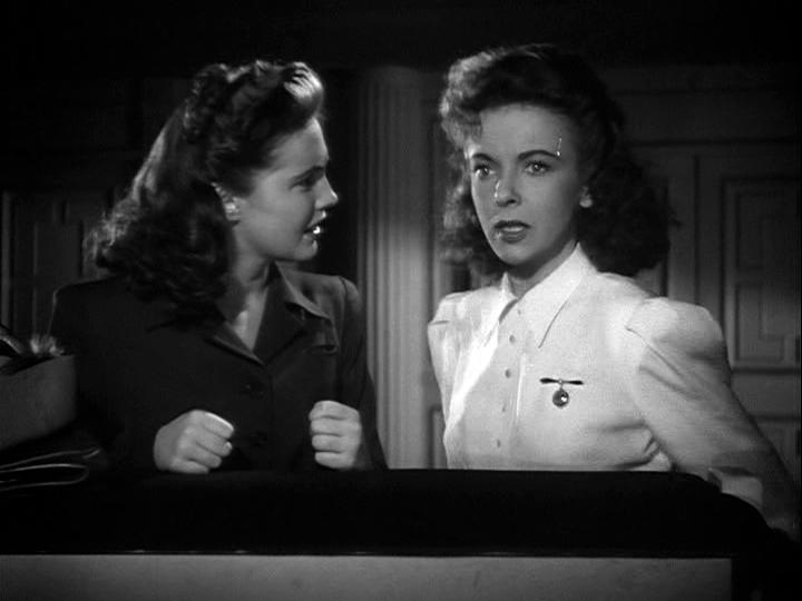 Joan Leslie, Ida Lupino in The Hard Way