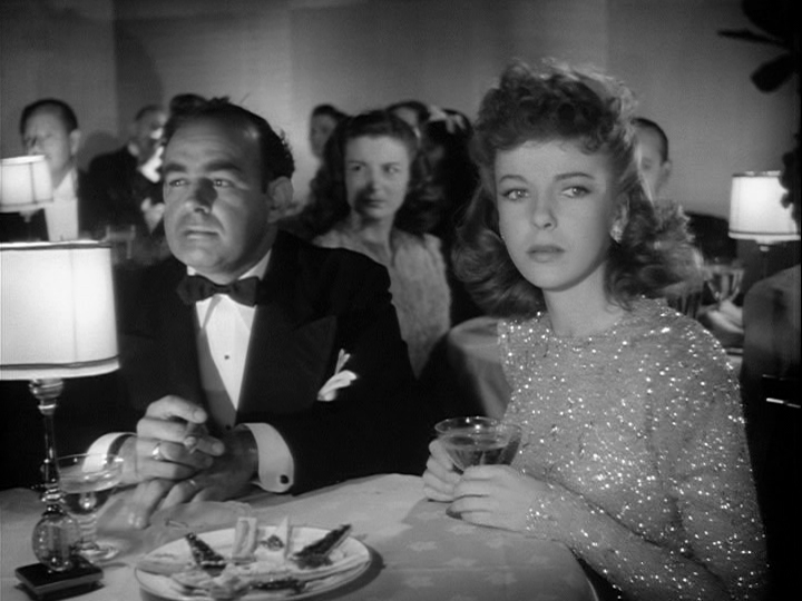 Nestor Paiva, Ida Lupino in The Hard Way