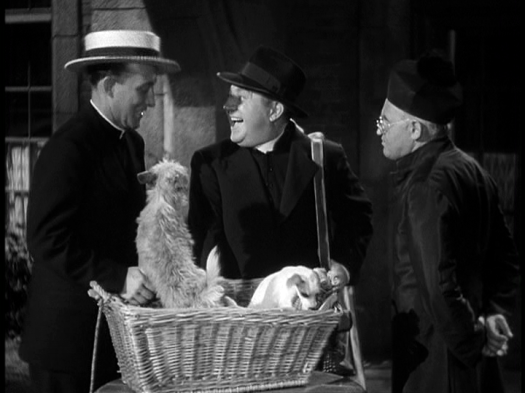 Bing Crosby, Barry Fitzgerald in Going My Way