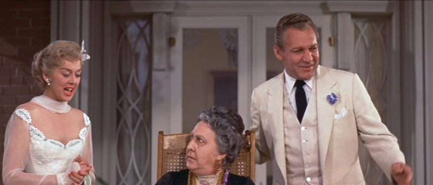 Rosalind Russell, Forrest Tucker in Auntie Mame