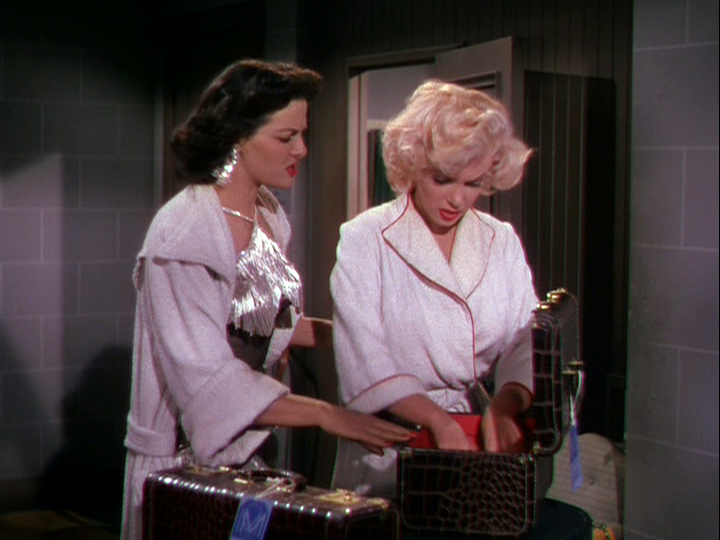 Jane Russell, Marilyn Monroe in Gentlemen Prefer Blondes