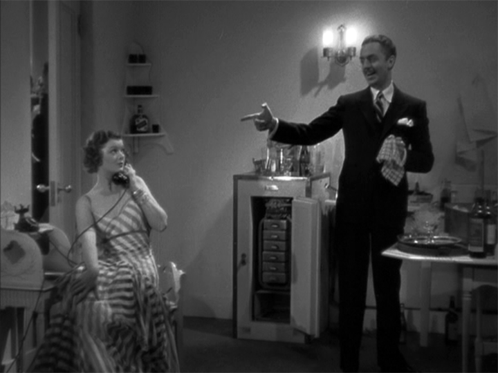 Myrna Loy, William Powell in The Thin Man