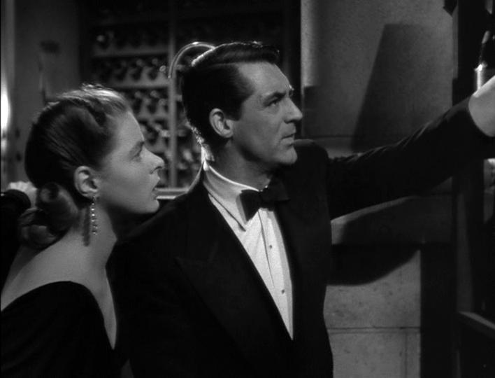 Ingrid Bergman, Cary Grant in Notorious
