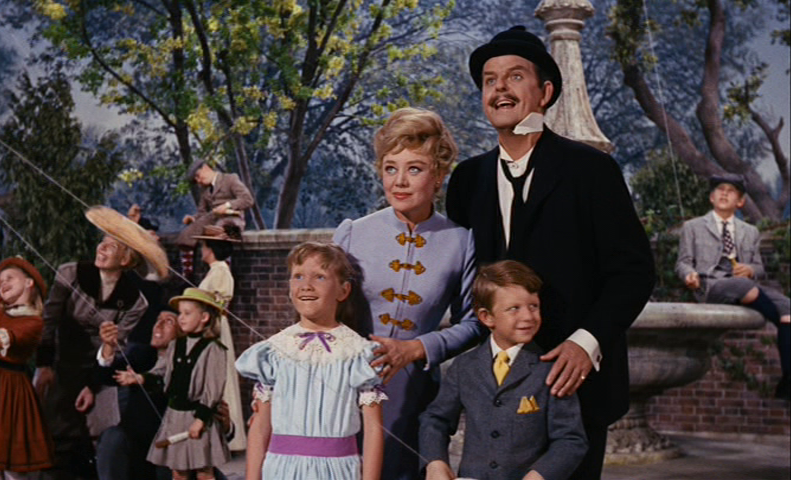 Glynis Johns, David Tomlinson in Mary Poppins