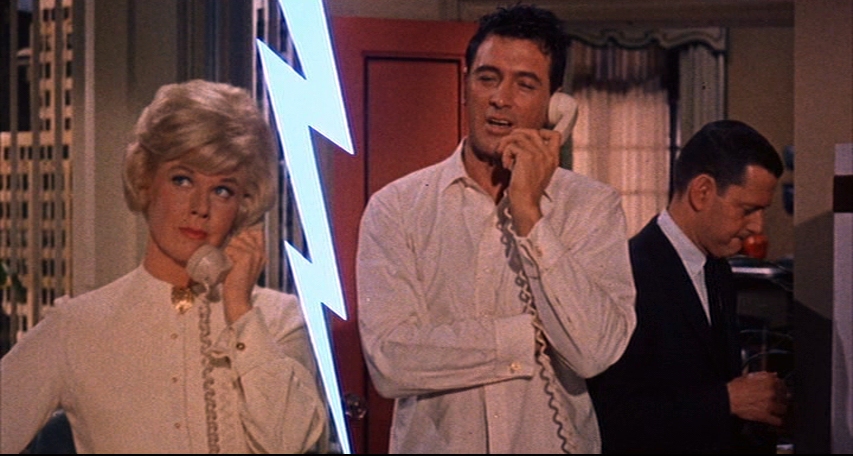 Doris Day and Rock Hudson battle it out for top advertising accounts on Madison Avenue.