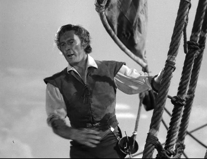 Errol Flynn in The Sea Hawk