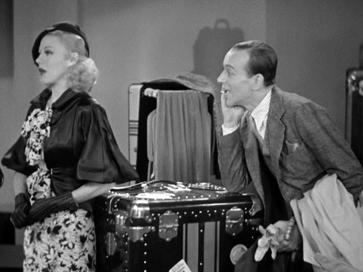 Ginger Rogers, Fred Astaire first meet in The Gay Divorcee