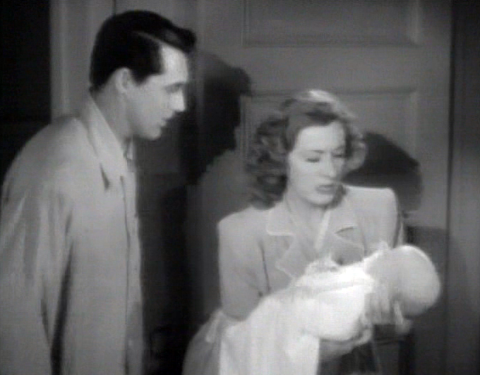 Cary Grant, Irene Dunne adjust to parenthood in Penny Serenade
