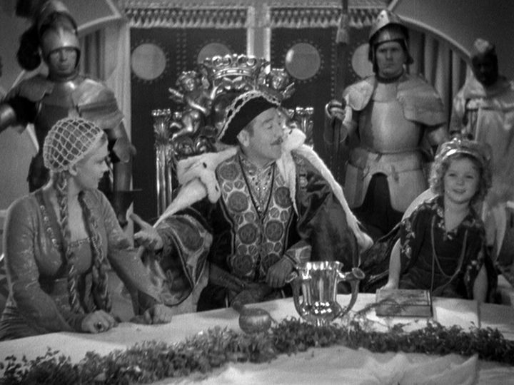 Dorothy Dell and Adolphe Menjou throw a party for Little Miss Marker in an effort to correct her sassy ways.