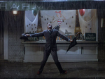 Gene Kelly is Singin' in the Rain.