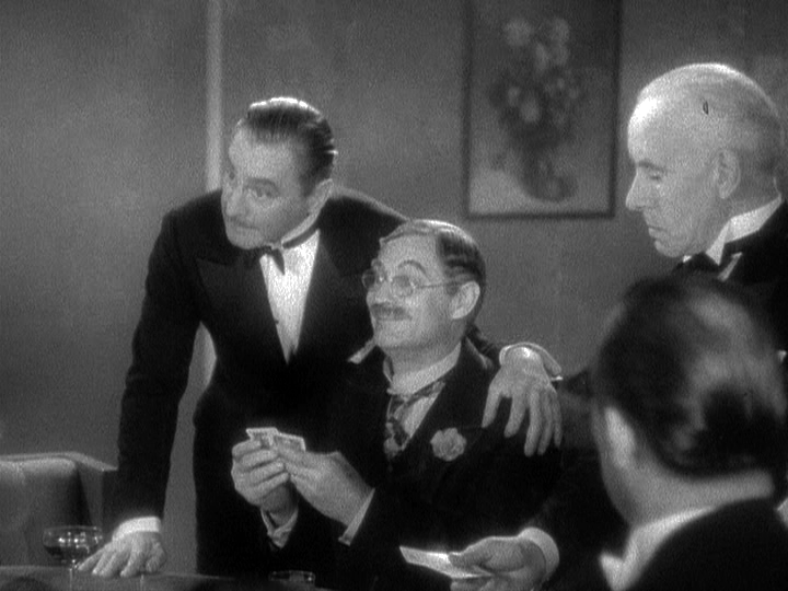 John Barrymore and Lionel Barrymore enjoy a high-stakes poker game in Grand Hotel.