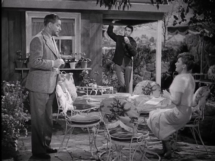 """Ronald Colman, Cary Grant, and Jean Arthur meet under unusual circumstances in """"The Talk of the Town."""""""