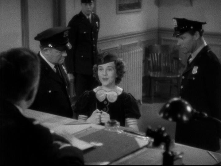 Deanna Durbin sings for the local police dept. in Three Smart Girls