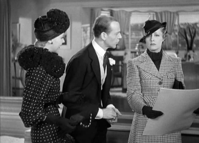 Ginger Rogers, Fred Astaire, Irene Dunne in Roberta