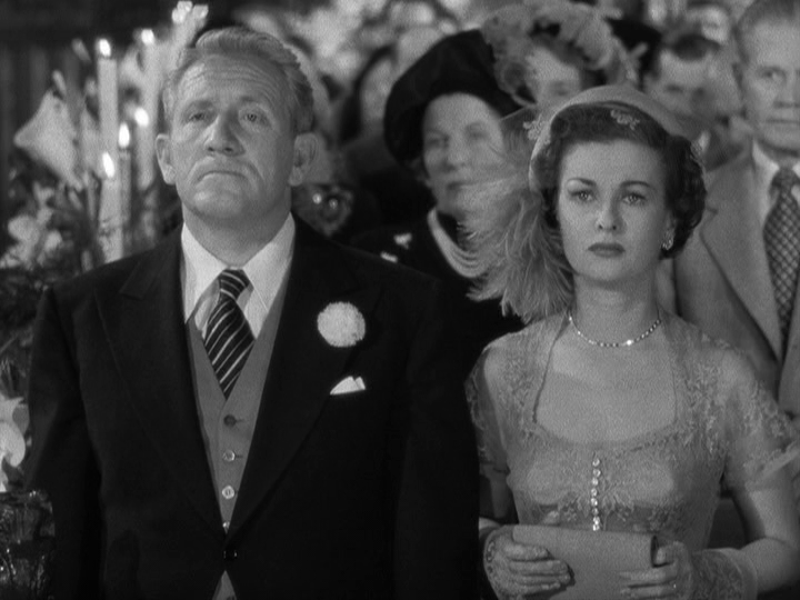 Spencer Tracy, Joan Bennett in Father of the Bride