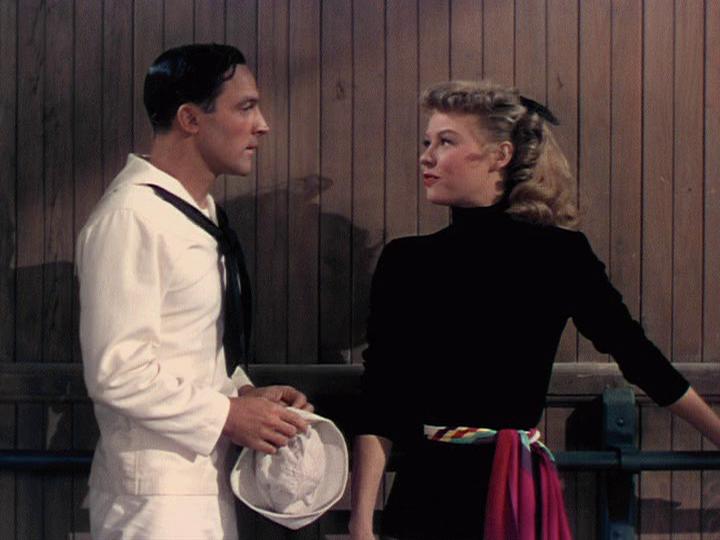 Gene Kelly, Vera-Ellen meet in On the Town