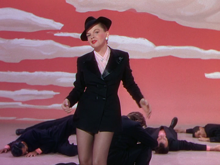 "Judy Garland performs ""Get Happy"" in ""Summer Stock."""
